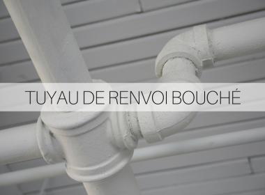Solution écologique pour tuyau bouché